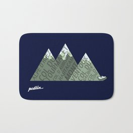 Mountain Type Bath Mat