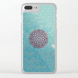 Yazd Tilework Clear iPhone Case