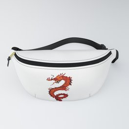 Mythical Red Dragon Fanny Pack