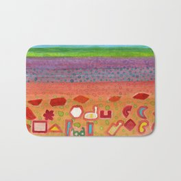 Remains on the Landscape Bath Mat