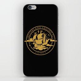 Neverland Sailing Co. iPhone Skin