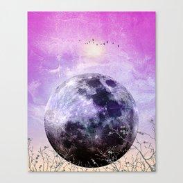 MOON under MAGIC SKY VII Canvas Print