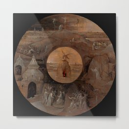 "Hieronymus Bosch ""Scenes from the Passion of Christ"" Metal Print"