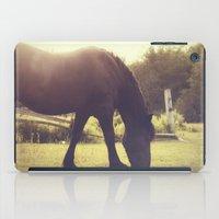 emma stone iPad Cases featuring Emma by Jennifer Rush