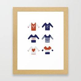 Sweater Weather Framed Art Print