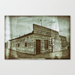 Tire and Lube Canvas Print