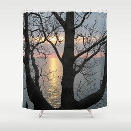 A Secret View Shower Curtain