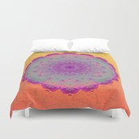 moonrise Duvet Covers featuring Moonrise by Peta Herbert