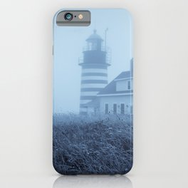 Quoddy Head Lighthouse 1 iPhone Case