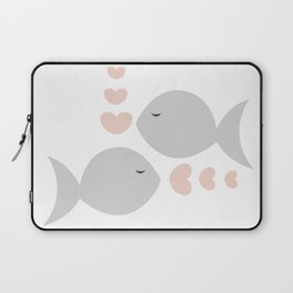 Pisces Feb 19 - March 20 - Water sign - Zodiac symbols Laptop Sleeve