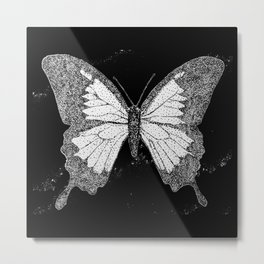 black butterfly n1 Metal Print