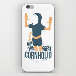 I am the Great Cornholio iPhone Skin