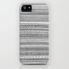 Mad Scribbles  iPhone Case