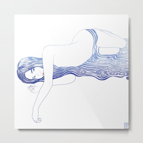Water Nymph XXXV Metal Print