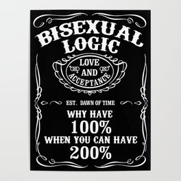 Bisexual Logic Poster