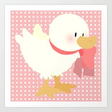 duck (female) Art Print