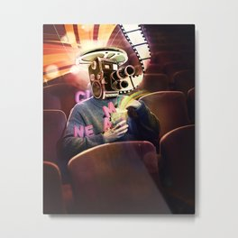 Cinema Poster Metal Print