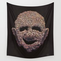 welcome Wall Tapestries featuring Welcome by IM idiom