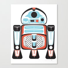 Silver Tenderfoot - Alliance Is Rebellion - R2-D2, wars, star Canvas Print