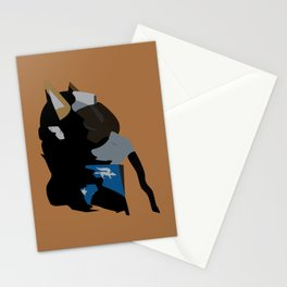 Airforce Fox Stationery Cards