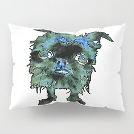 Lugga The Friendly Hairball Monster For Boos Pillow Sham
