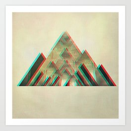 try_angles (iphone Created) Art Print
