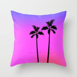 Slacker Club Throw Pillow
