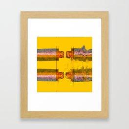 COMUNICATION BREAKDOWN Framed Art Print