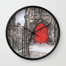 The Royal Mile Wall Clock