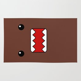 Domo Kun - Brown Japanese Monster Rug