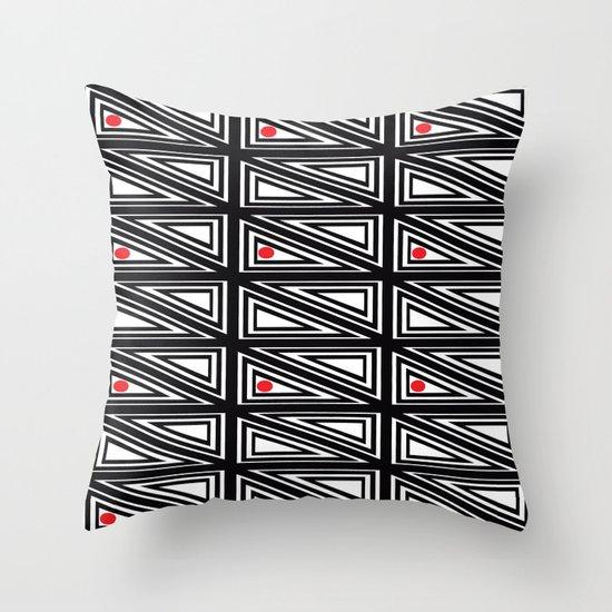 Triangle Box Throw Pillow