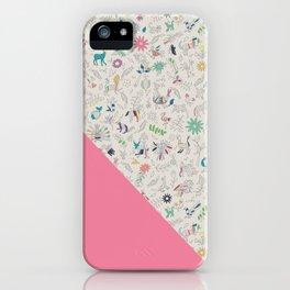 Pez Otomi pink by Ana Kane iPhone Case
