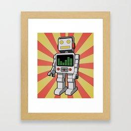 Groove Robot Framed Art Print
