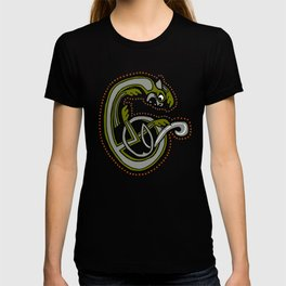 Celtic Cat Letter C 2019 T-shirt
