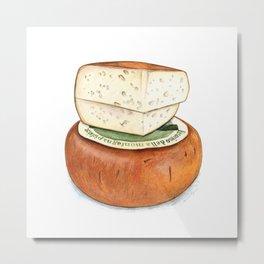 Pecorino Cheese Metal Print