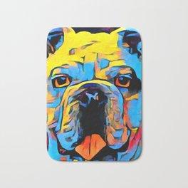 Bulldog Bath Mat