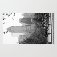 central park Area & Throw Rugs featuring Central Park by Kristi Jacobsen Photography