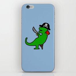 Pirate Dinosaur - T-Rex iPhone Skin