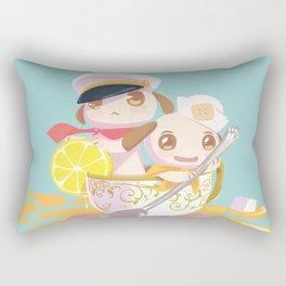 Merrily, Merrily Rectangular Pillow