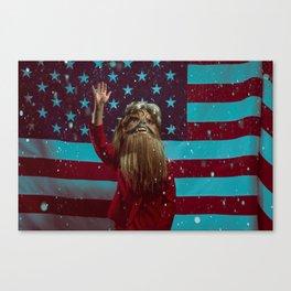 HRC (Hillary Rodham Clinton) Canvas Print