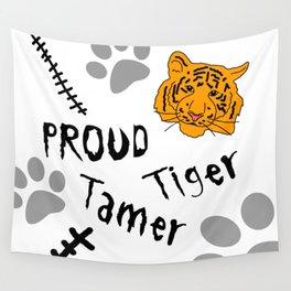 Proud Tiger Tamer Wall Tapestry