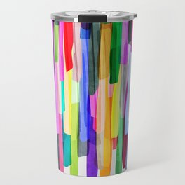 Colorful Stripes 4 Travel Mug