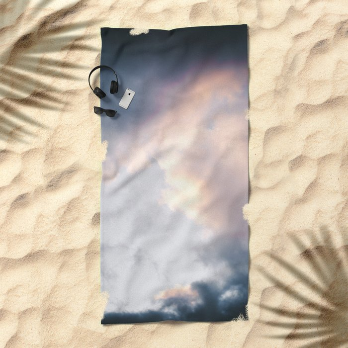 Creamy Clouds Beach Towel