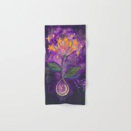 New moon bloom Hand & Bath Towel
