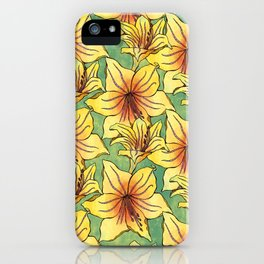 Floral Pattern Energise iPhone Case
