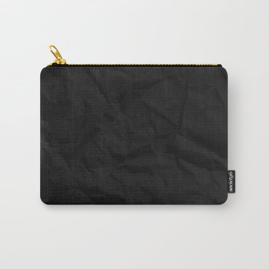 VERTICAL BLACK Carry-All Pouch