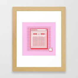 Minesweeper Framed Art Print