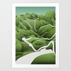 China / Travel Collection Art Print