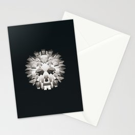 sad untitled Stationery Cards