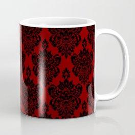 Crimson Damask Coffee Mug